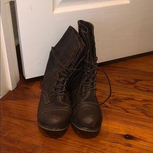 Madden Girl Gamer Combat Boots